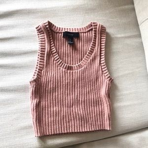 F21 Knit Crop Top